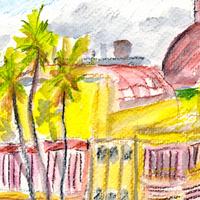 plein air sketch
