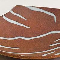 Stoneware vessel by Carol Eddy