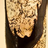 Porcelain vase by Carol Eddy