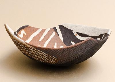 stoneware vessel by Carol Eddys